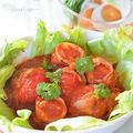 肉巻きミディトマトのトマトソース煮♪隠し味は梅酒の梅の実!