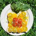 トマト&カッテージチーズトースト♪ハーブの香りの目覚め by べにゆうさん
