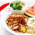 【姫ごはん☆美脚強化月間】うなぎがなくても脂肪をつきにくいカラダを作る~豚肉の梅マスタードレシピ