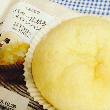 バター広がるメロンパン♪