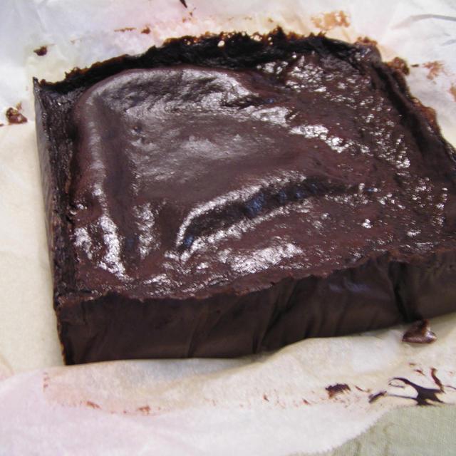 豆腐のチョコケーキ