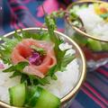 カップ寿司♪母の日に簡単&小さなごちそうプレゼント