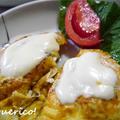 ぬるチーズがとろ~り、簡単!チーズオン鶏のピカタ