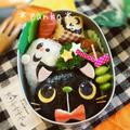 ハロウィン☆黒猫とおばけのお弁当/キャラ弁