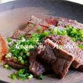 牛肉の山椒焼き
