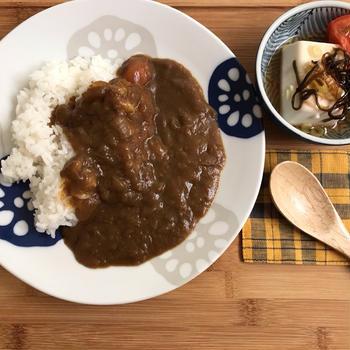 10月15日〜今日のひとり飯と新しいお皿♡〜
