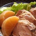 <煮豚と大根の煮込み> by はーい♪にゃん太のママさん