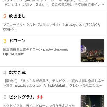 始まりましたね、東京オリンピック