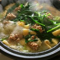 野菜と肉団子の鍋