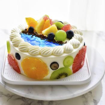 トロピカルなケーキ