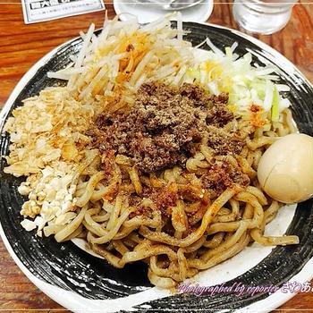 花椒×黒胡麻「汁なし坦々麺」レベル5辛☆つけめんTETSU さいたま特別版、期間限定メニュー