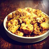 すき焼き風肉豆腐/ま、ごはんにしようよ。