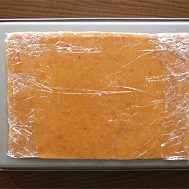 米粉のピーナツバター折り込みシート