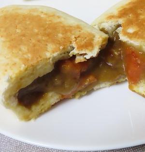 発酵なし!ホットケーキミックスで焼きカレーパン