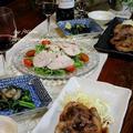 ◆豚ロースの醤油麹焼きでおうちごはん~ゆるやか糖質制限中♪