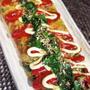 ■簡単5分!!菜園料理【モロヘイヤ大量のオムレツ】