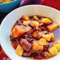【お砂糖なしぜんざい】さつまいもとりんごの塩善哉(動画レシピ)/Sweet potato and Apple Zenzai.