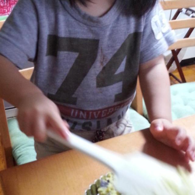 3歳児作 スイートポテトらしきもの