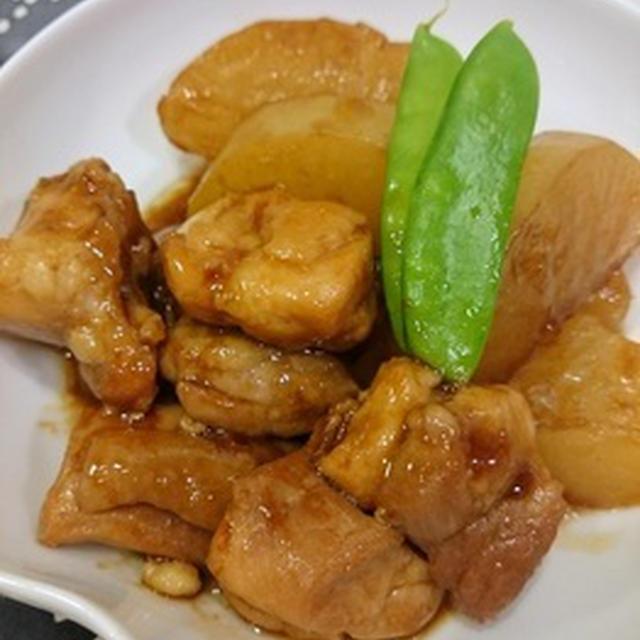 鶏肉と大根のオイスターソース煮