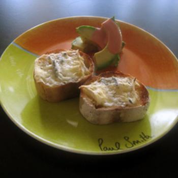 ブルーチーズトースト