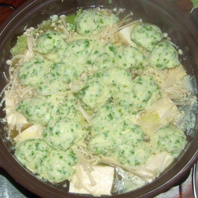 トロカレイ鍋を2種類のポン酢ダレで