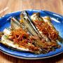 雪平鍋で作る「イワシの生姜煮」&「丸亀製麺 牛山盛りうどん」食べてみた
