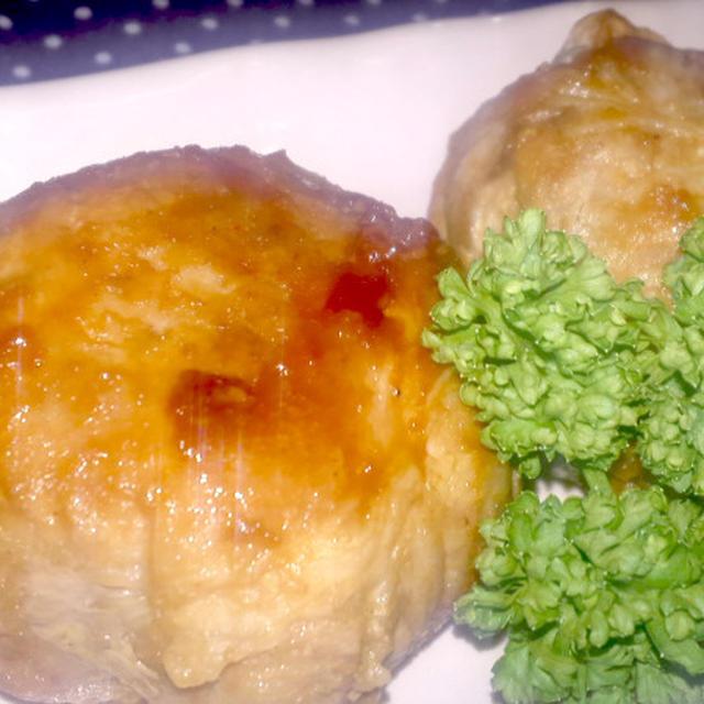【レシピ】プルンプルン!材料たったの2つ!味つけは焼肉のタレまかせ!肉巻冷凍卵^^♪