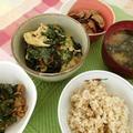 トラック フード フェスティバル ~ 韓国紫蘇の醤油漬けと納豆の組み合わせ