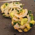 春野菜のかき揚げ~そら豆、新玉ねぎ、三つ葉~
