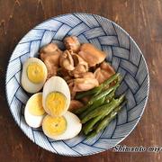 焼肉のタレで簡単!鶏肉とゆで卵のこっくり煮