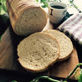 メープルと全粒粉でラウンドパン。と、感謝。