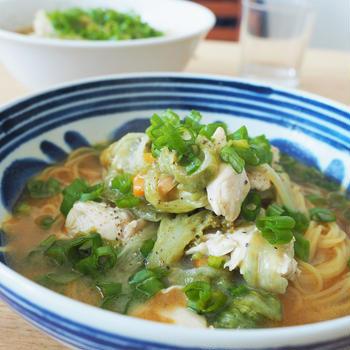 海外在住者必見!パスタ麺でラーメンの中華麺を作る方法。