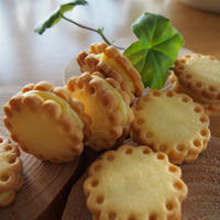 ★レモンミントサンドクッキー(レシピブログモニター)
