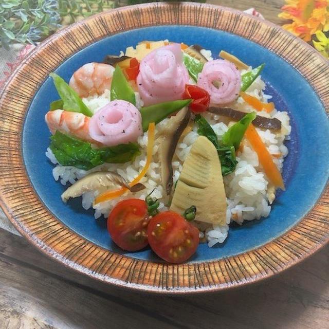料理教室☆きまぐれランチ♪お花見にも彩りちらし寿司