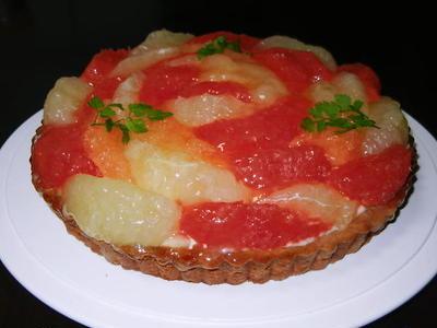 グレープフルーツ・タルト