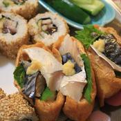 しめ鯖の稲荷寿司