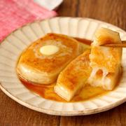 【調理時間10分】調味料3つで簡単! めんつゆバター餅