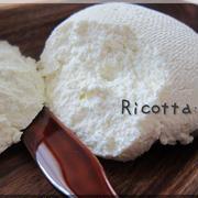 水切りヨーグルトのホエーから作る・リコッタチーズ