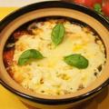 トマトとチーズたっぷ〜りスープパスタ