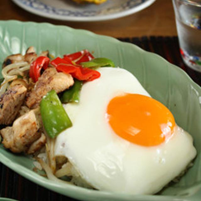 アジアン飯 いろいろ野菜の塩麹炒め