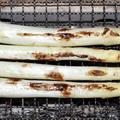 ホワイトアスパラガスの炭火焼