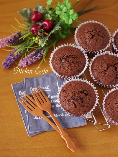 「HMで簡単に☆ダブルチョコのカップケーキ」話題入りのお知らせ&御礼