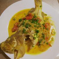アンティーユ風鮮魚のクールブイヨン