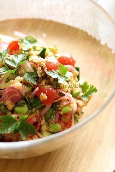 トスカーナの夏の定番サラダ