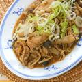 レンジで簡単〜ご飯がすすむおかず!豚バラ肉ときのこの味噌オイスターソース。
