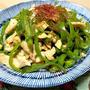 ピーマンと鶏むね肉のカシューナッツ炒め。冷凍保存法。