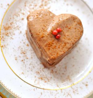 豆腐チョコレートムースケーキ