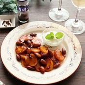 クローブの香り☆柿とアーモンドのキャラメリゼ