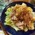 カリカリ豚バラキャベツの香味だれ【#簡単レシピ#時短#節約#スピード料理】