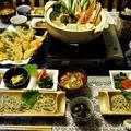 ■大晦日おもてなし料理【ラスト③蟹鍋と天婦羅を含めた全貌編】です♪